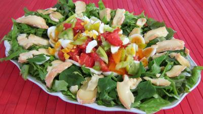 Image : Assiette de tétragone en salade