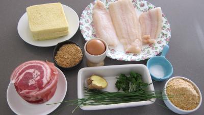 Ingrédients pour la recette : Croustillants au loup de mer