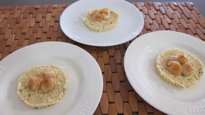 Rémoulade de céleri-rave et pommes et noix de saint-Jacques - 5.2
