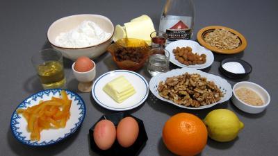 Ingrédients pour la recette : Gubana du Frioul