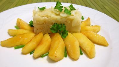Recette Chou aux pommes