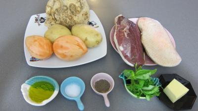Ingrédients pour la recette : Magrets à la maraîchère