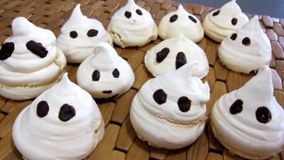 Recette Halloween les esprits fantômes