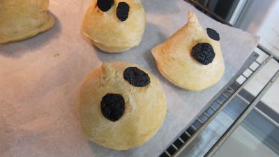 Halloween les pains fantômes - 6.4