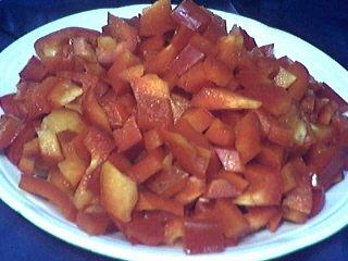Crème de poivron rouge au boursin - 1.4