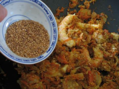 Crevettes à la chinoise - 8.3
