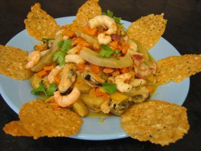 Crevettes et moules aux artichauts - 13.1
