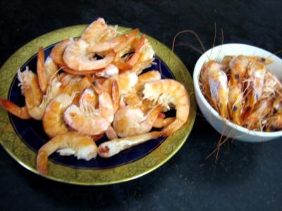 Crevettes et moules aux artichauts - 1.1