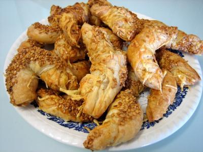 Recette Croissants à l'emmental et graines de sésame