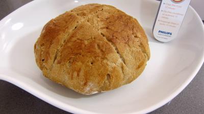 Appareil Airfryer Philips : Miche de pain au blé noir réalisé avec la fritueuse Airfryer