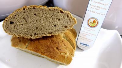 Miche de pain au blé noir à la friteuse Airfryer - 9.2