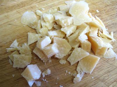 Crumble aux haricots verts et sa crème d'ail - 3.2