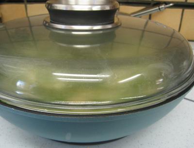 Crumble aux haricots verts et sa crème d'ail - 6.2