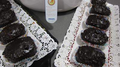 Image : recette Cupcakes au chocolat  la friteuse Airfryer
