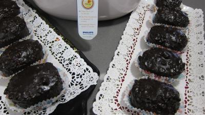 Image : Plats de cupcakes au chocolat à la friteuse Airfryer