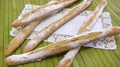 Recette Ficelles de pain