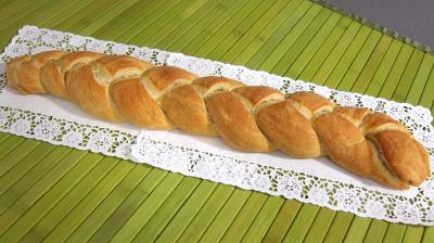 Recette Tresse de pain
