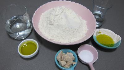 Ingrédients pour la recette : Tresse de pain