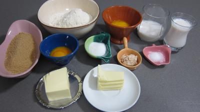 Ingrédients pour la recette : Tarte au sucre