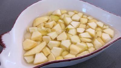 Chou rouge aux pommes et crudités - 1.4