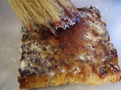 Canapés aux oeufs de truite - 3.1