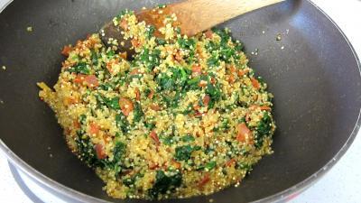 Chorizo, quinoa et coquilles Saint-Jacques - 6.4