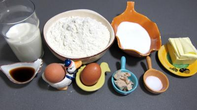 Ingrédients pour la recette : Manalas ou mannele