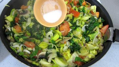 Quinoa aux poireaux et aux épinards - 6.4
