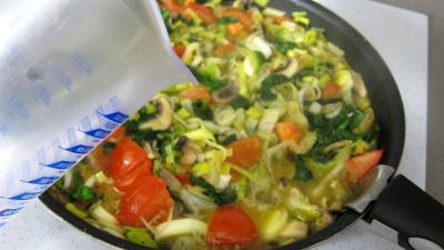 Quinoa aux poireaux et aux épinards - 7.2
