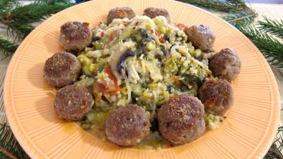 Recette Quinoa aux poireaux et aux épinards