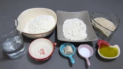 Ingrédients pour la recette : Pain au son d'avoine