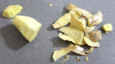 Médaillons de perche et sa crème de légumes - 1.4