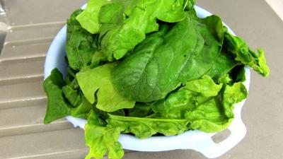 Grenouilles caramélisées aux épinards - 1.4