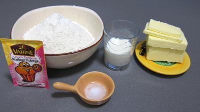 Ingrédients pour la recette : Scones anglais