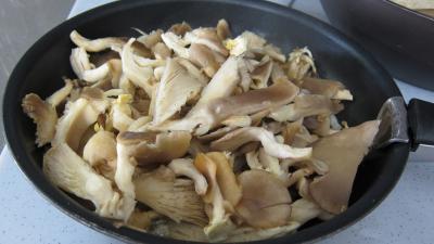 Pleurotes en risotto à la truffe - 6.4
