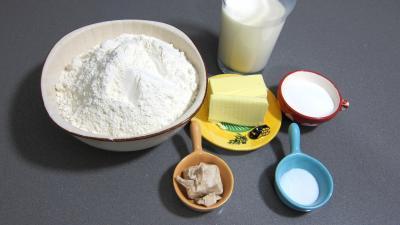 Ingrédients pour la recette : Navettes de pain