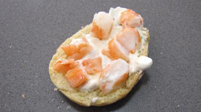 Navettes aux crevettes et à la ricotta - 2.2
