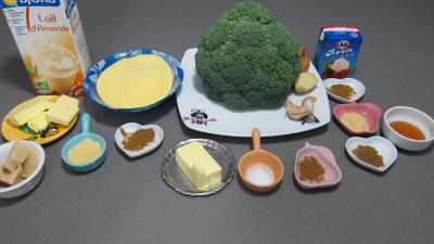Ingrédients pour la recette : Farcis de brocolis à la polenta