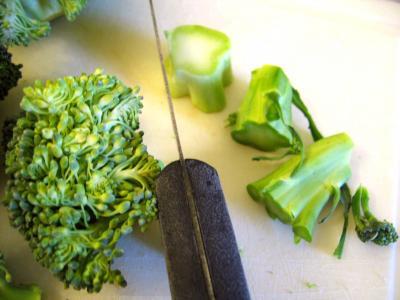 Farcis de brocolis à la polenta - 1.2