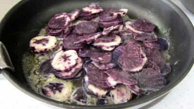 Vitelottes et légumes aux filets de dinde panés - 6.2