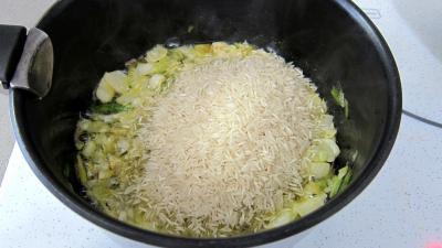 Crosnes et églefin (aiglefin) en risotto - 3.4