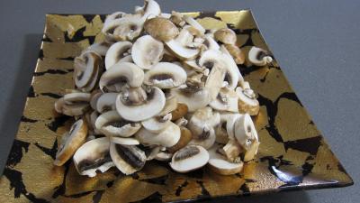 Pizza aux épinards et aux champignons - 1.4
