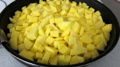 Crêpes farcies aux gésiers confits et pommes de terre - 5.3