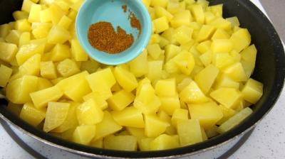 Crêpes farcies aux gésiers confits et pommes de terre - 7.1