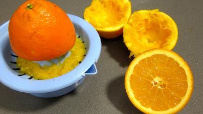 Bouillie ou potage aux carottes et aux oranges - 1.2