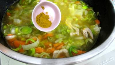 Bouillie ou potage aux carottes et aux oranges - 7.3