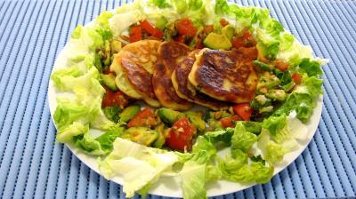 sirop d'érable : Assiette de ricotta en croquettes au citron vert
