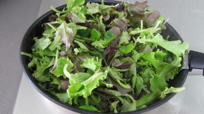 Brouillade de salades aux coquillettes - 2.2