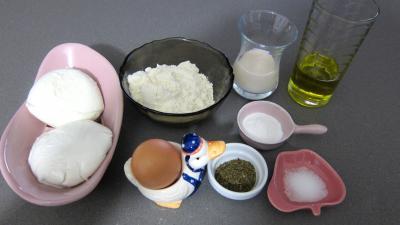 Ingrédients pour la recette : Mozzarella en galettes