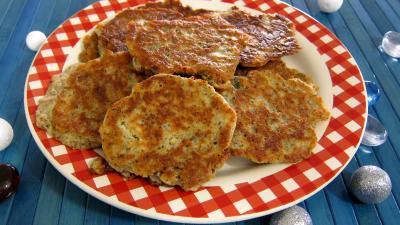 lait noisette : Assiettes de mozzarella en galettes